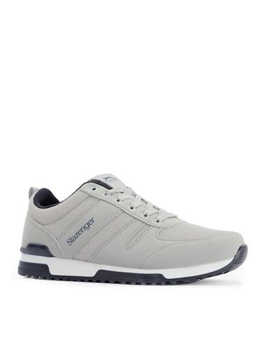 Slazenger Slazenger EDWIN Sneaker Erkek Ayakkabı   Saks  Gri